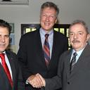 Secretário-geral adjunto da ONU se encontra com prefeito Luiz Marinho e Lula