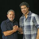 Raí grava entrevista com Lula