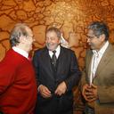 Lula almoça com Tarso e Olívio no RS